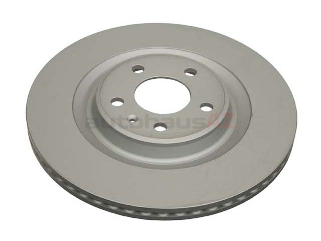 4H0615601Q Zimmermann Coat Z Disc Brake Rotor; Rear