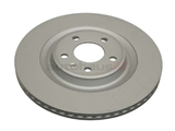 ZZ-4H0615601Q Zimmermann Coat Z Disc Brake Rotor; Rear