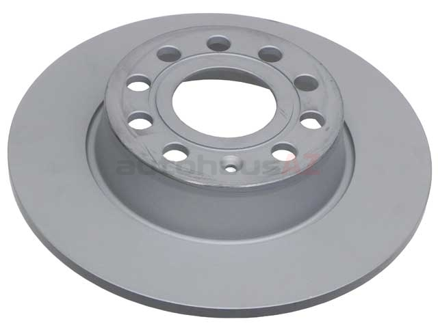 5Q0615601D Zimmermann Coat Z Disc Brake Rotor; Rear; 272mm