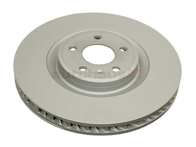 95B615302R Zimmermann Coat Z Disc Brake Rotor; Front Right