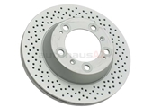98735240301 Zimmermann Coat Z Disc Brake Rotor